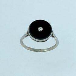 Onyx 14ct Gold Ring