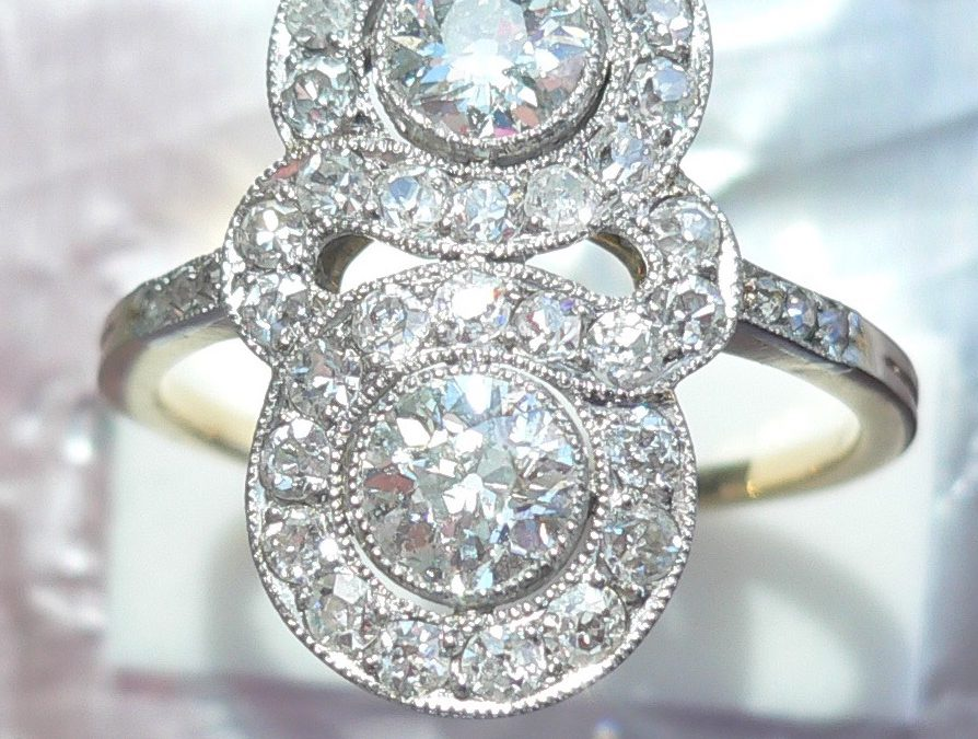 A dazzlingly beautiful Art Deco Diamond Ring