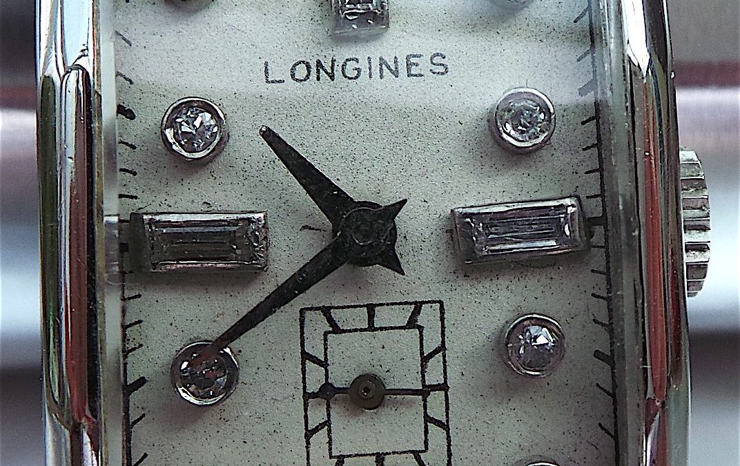 Rare Longines Platinum watch