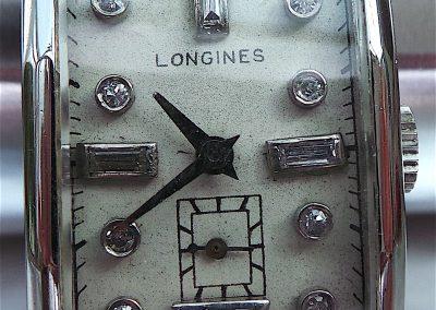 Rare Longines Platinum watch