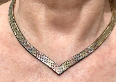 Beautiful Collier in 9 carat gold