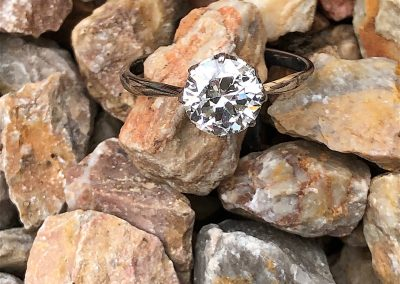 Fabulous  Diamond Solitaire engagement ring