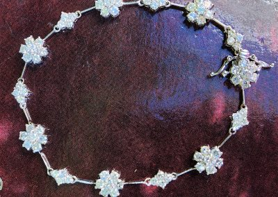 Brilliantly sparkly Daisy Cluster bracelet